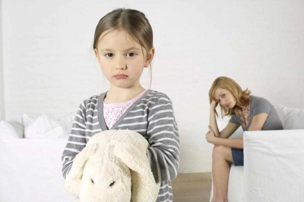 может ли ребенок не любить маму