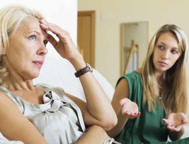 конфликты между мамой и дочерью